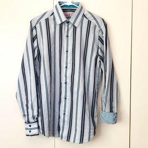 Robert Graham Mens Shirt Small Long Sleeve Button